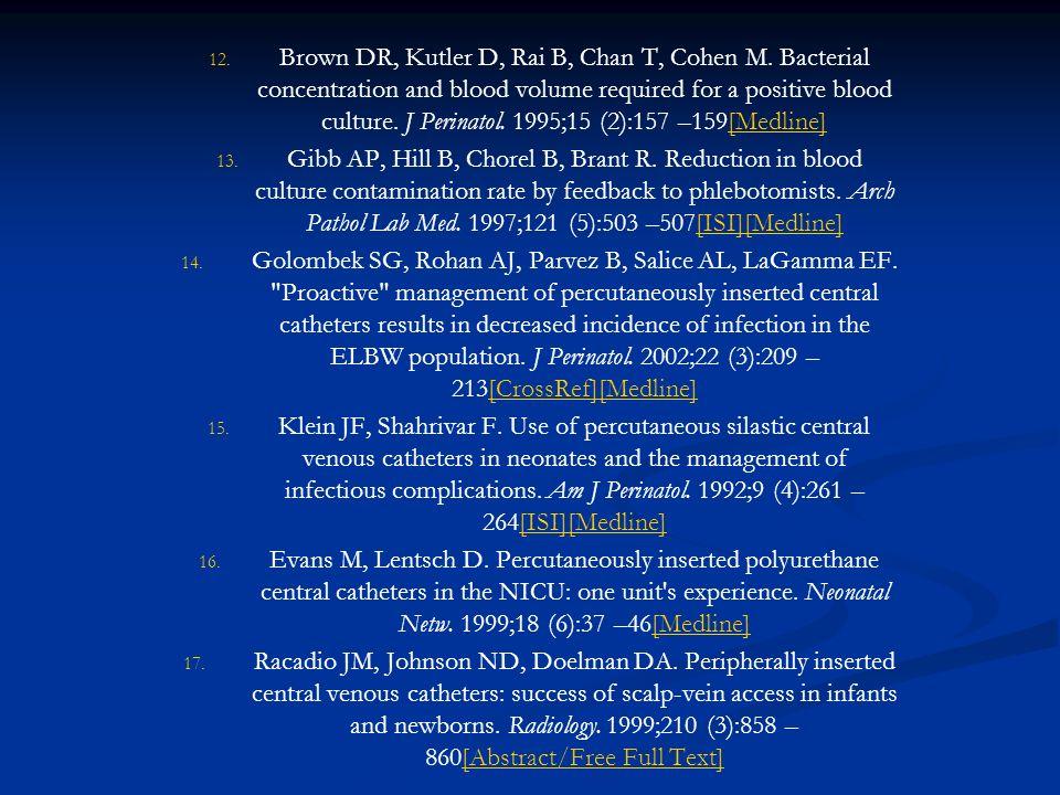Brown DR, Kutler D, Rai B, Chan T, Cohen M