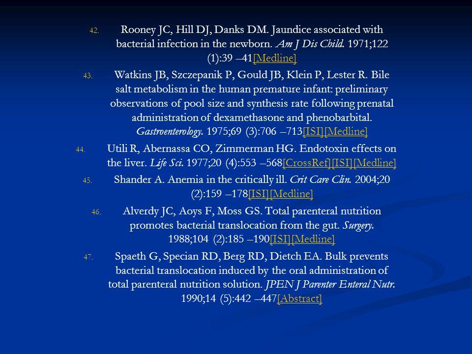 Rooney JC, Hill DJ, Danks DM