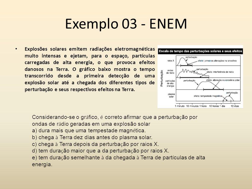 Exemplo 03 - ENEM