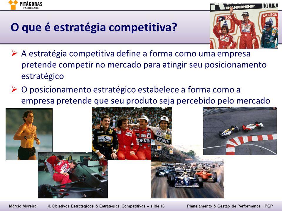 O que é estratégia competitiva