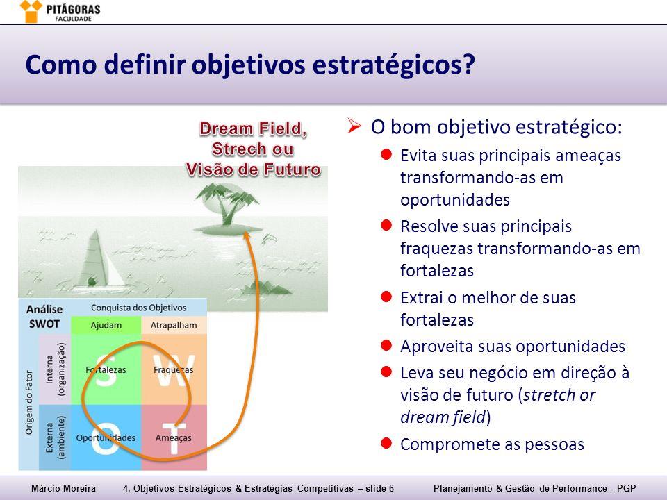 Como definir objetivos estratégicos