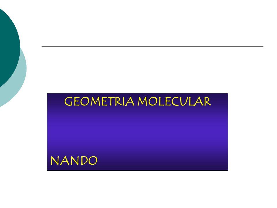 GEOMETRIA MOLECULAR NANDO