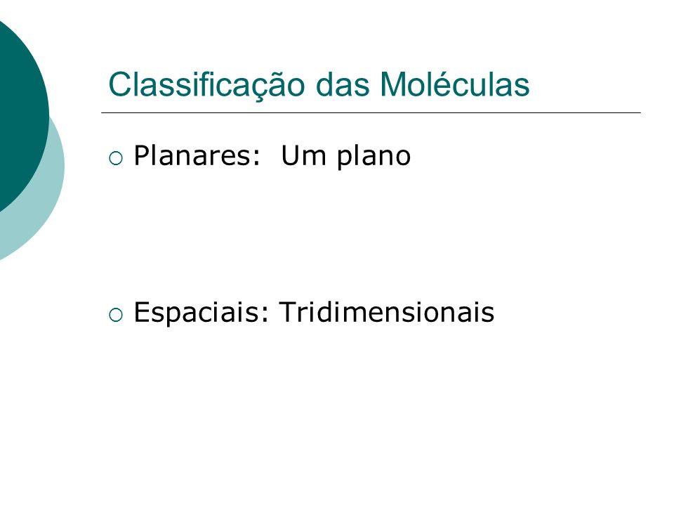 Classificação das Moléculas