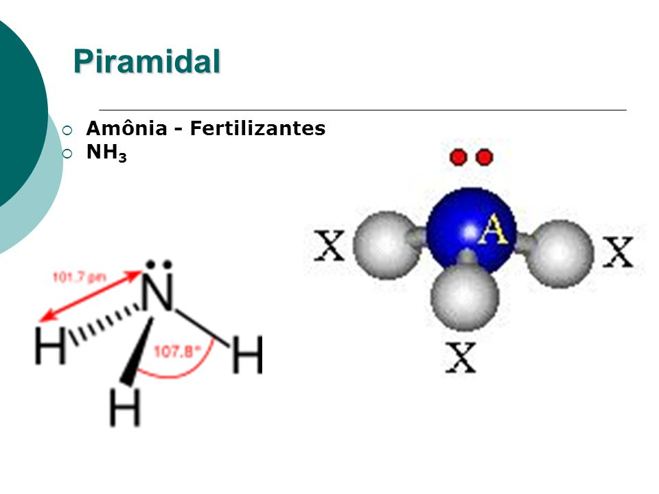 Piramidal Amônia - Fertilizantes NH3