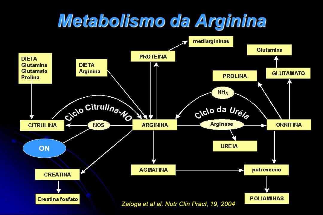 Metabolismo da Arginina