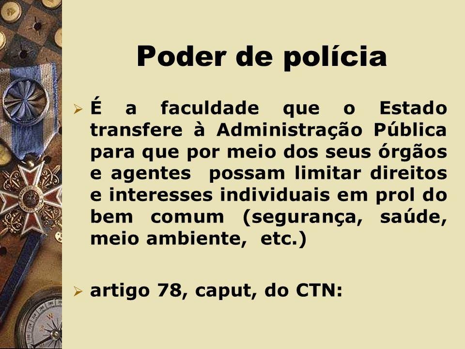 Poder de polícia