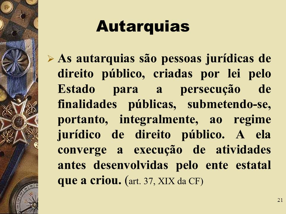 Autarquias