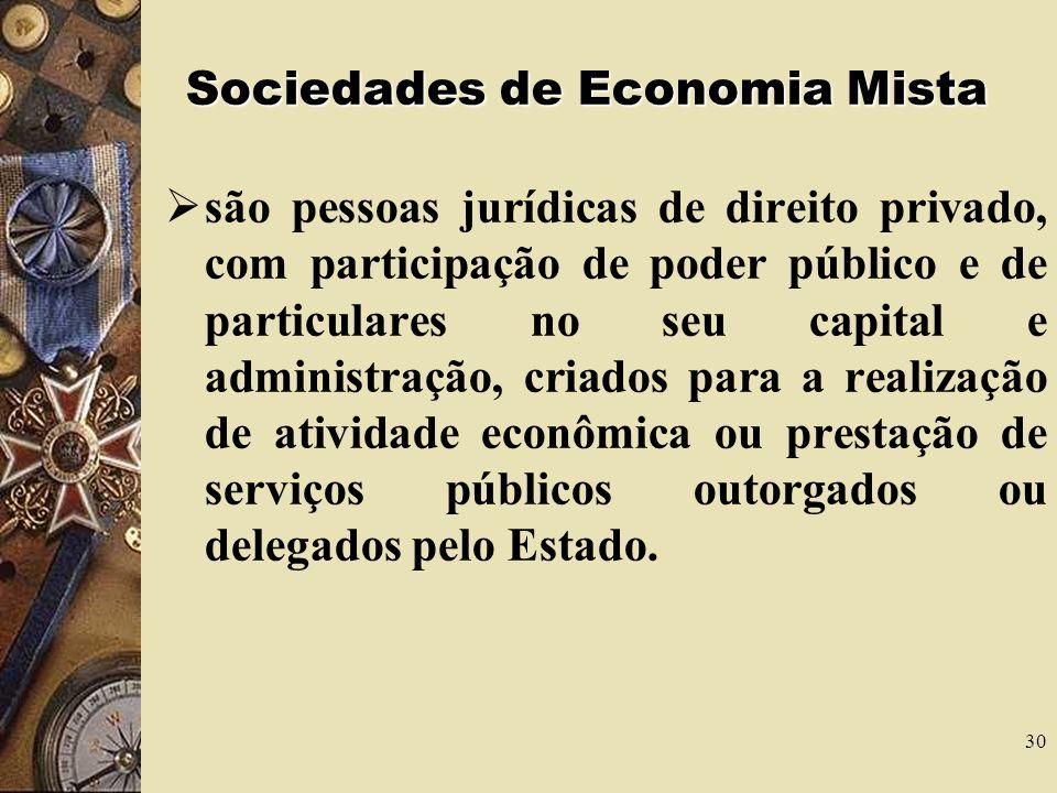 Sociedades de Economia Mista