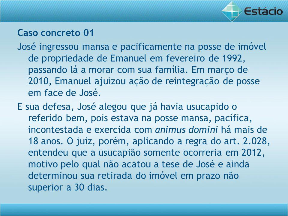 Caso concreto 01