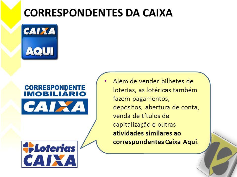 CORRESPONDENTES DA CAIXA