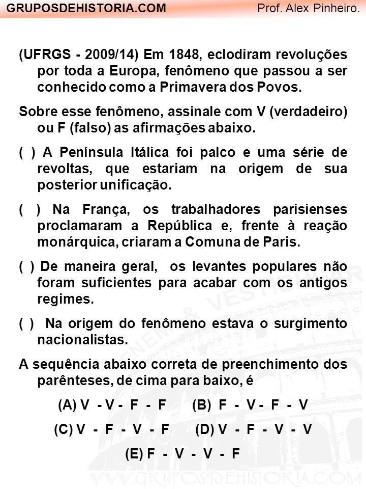 (C) V - F - V - F (D) V - F - V - V