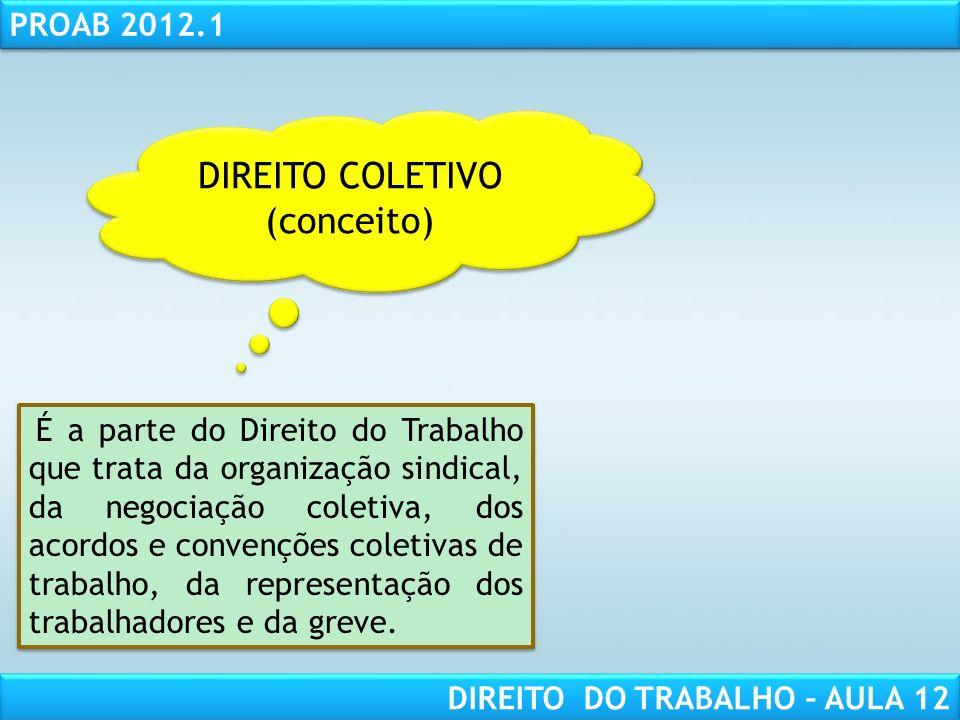 DIREITO COLETIVO (conceito)