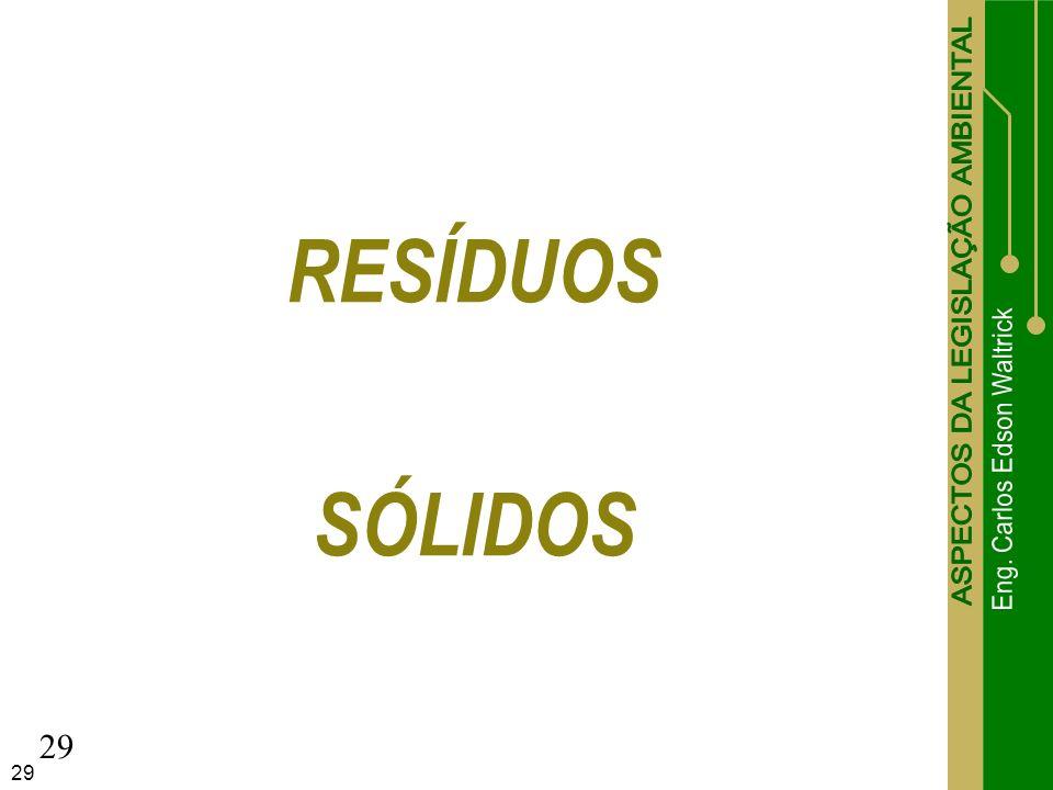 RESÍDUOS SÓLIDOS 29