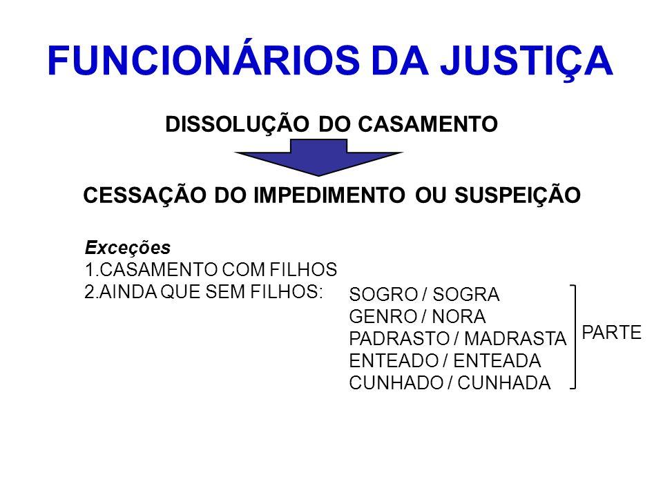FUNCIONÁRIOS DA JUSTIÇA