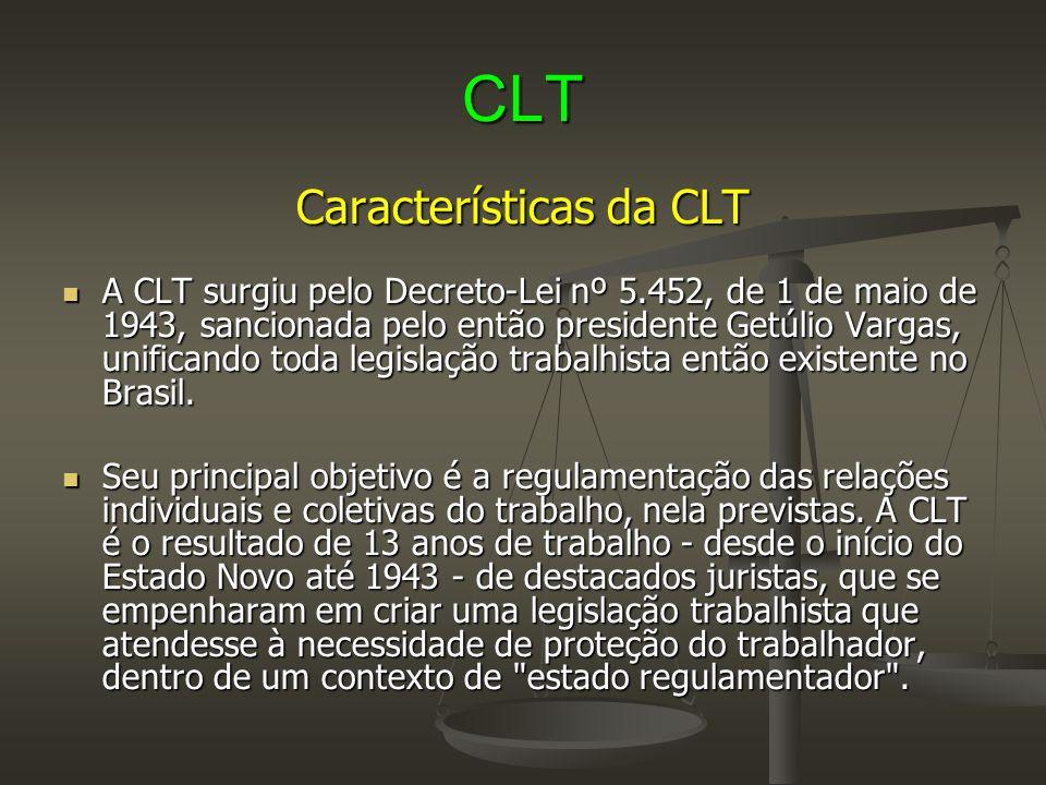 Características da CLT