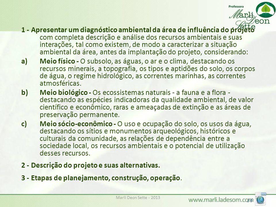 2 - Descrição do projeto e suas alternativas.