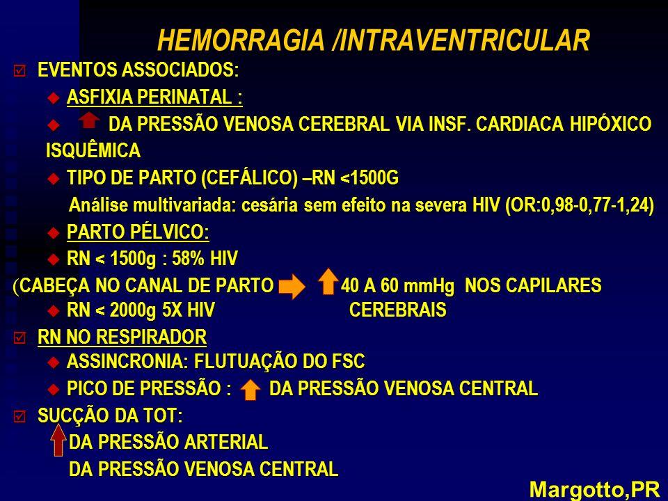 HEMORRAGIA /INTRAVENTRICULAR