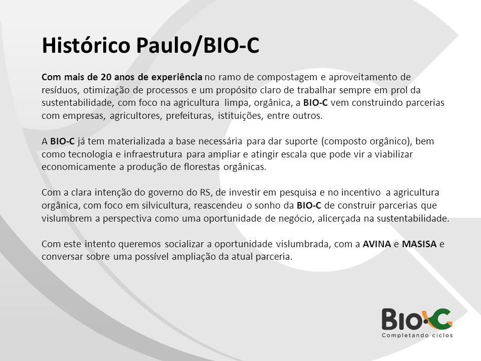 Histórico Paulo/BIO-C