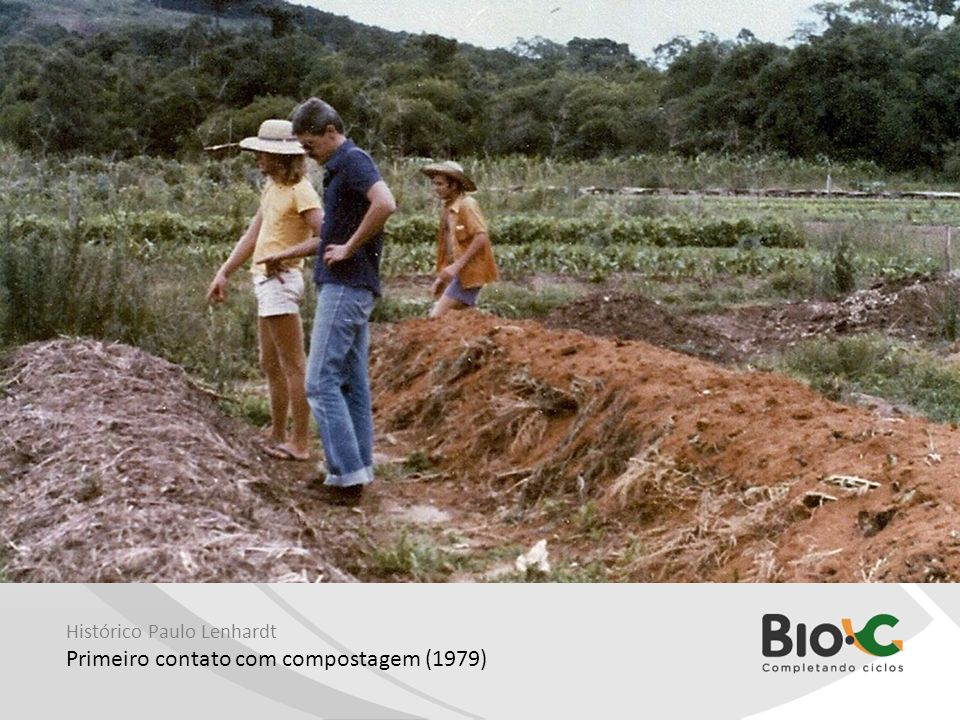 Primeiro contato com compostagem (1979)