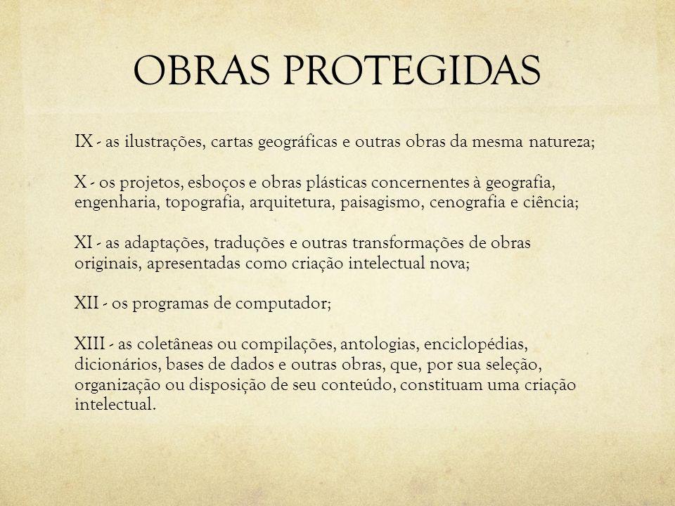 OBRAS PROTEGIDAS