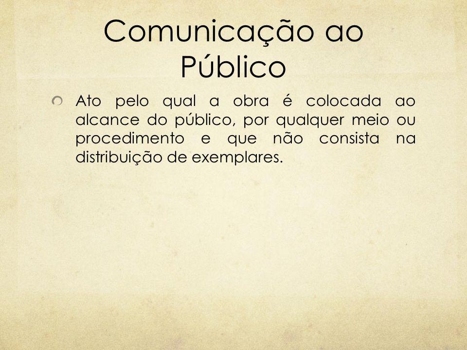 Comunicação ao Público