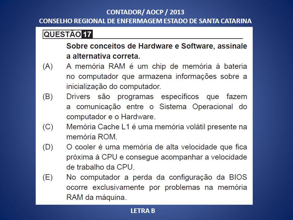 CONSELHO REGIONAL DE ENFERMAGEM ESTADO DE SANTA CATARINA