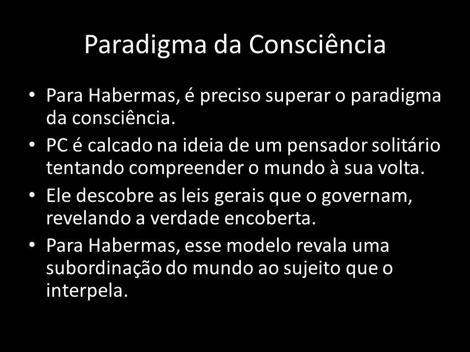 Paradigma da Consciência