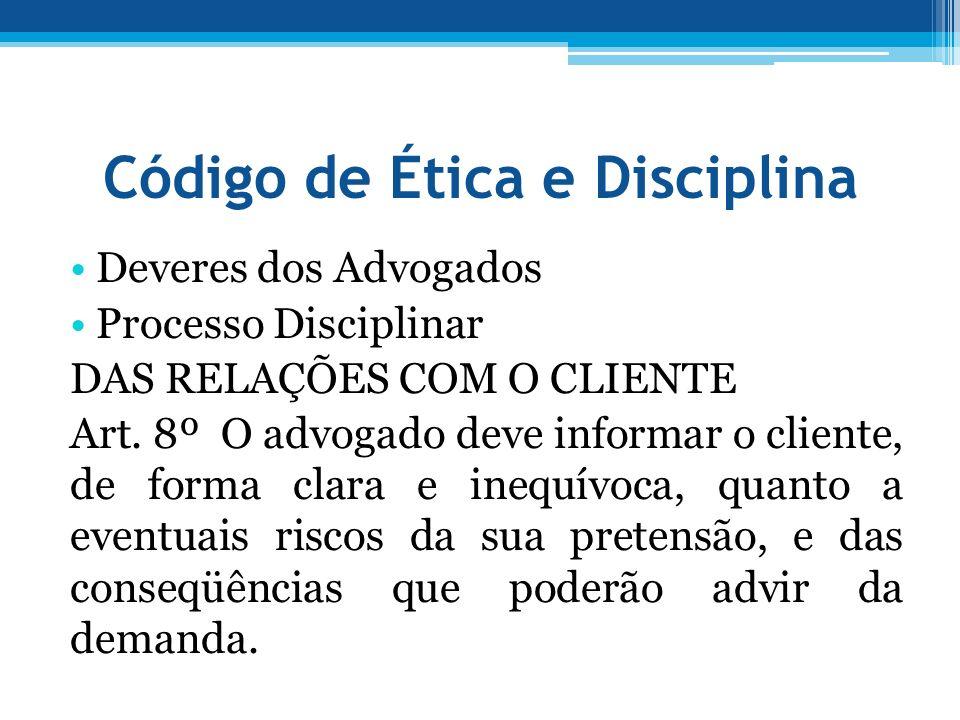 Código de Ética e Disciplina