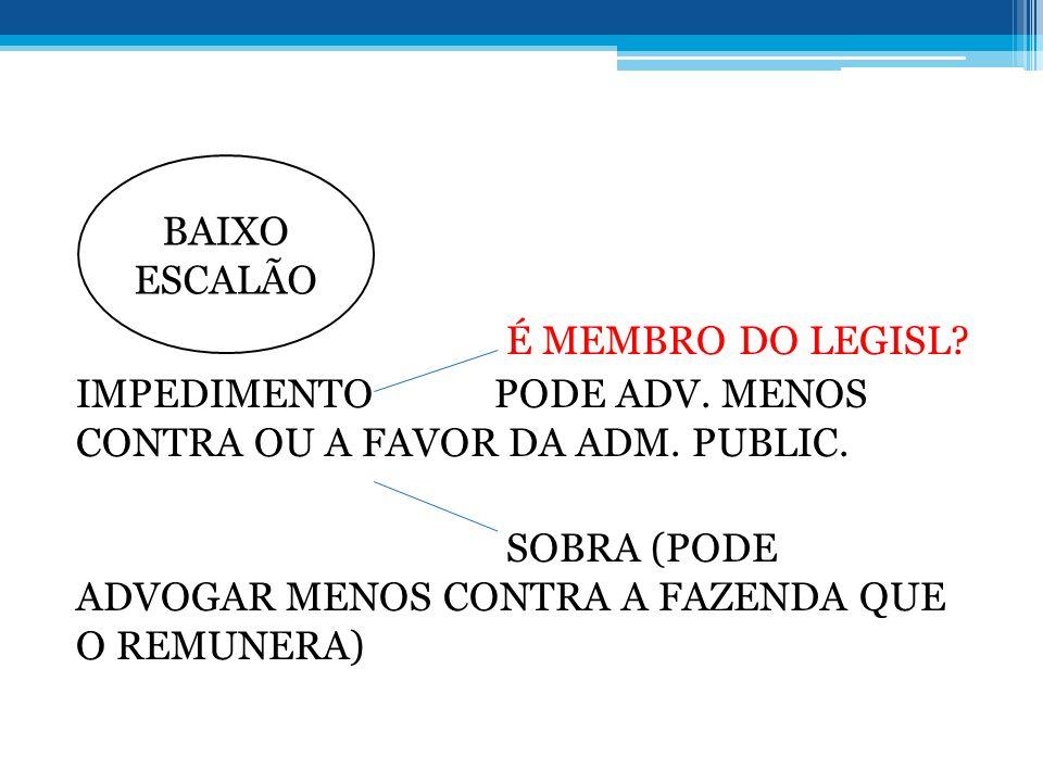 BAIXO ESCALÃO