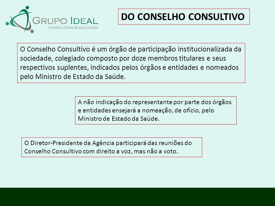 DO CONSELHO CONSULTIVO
