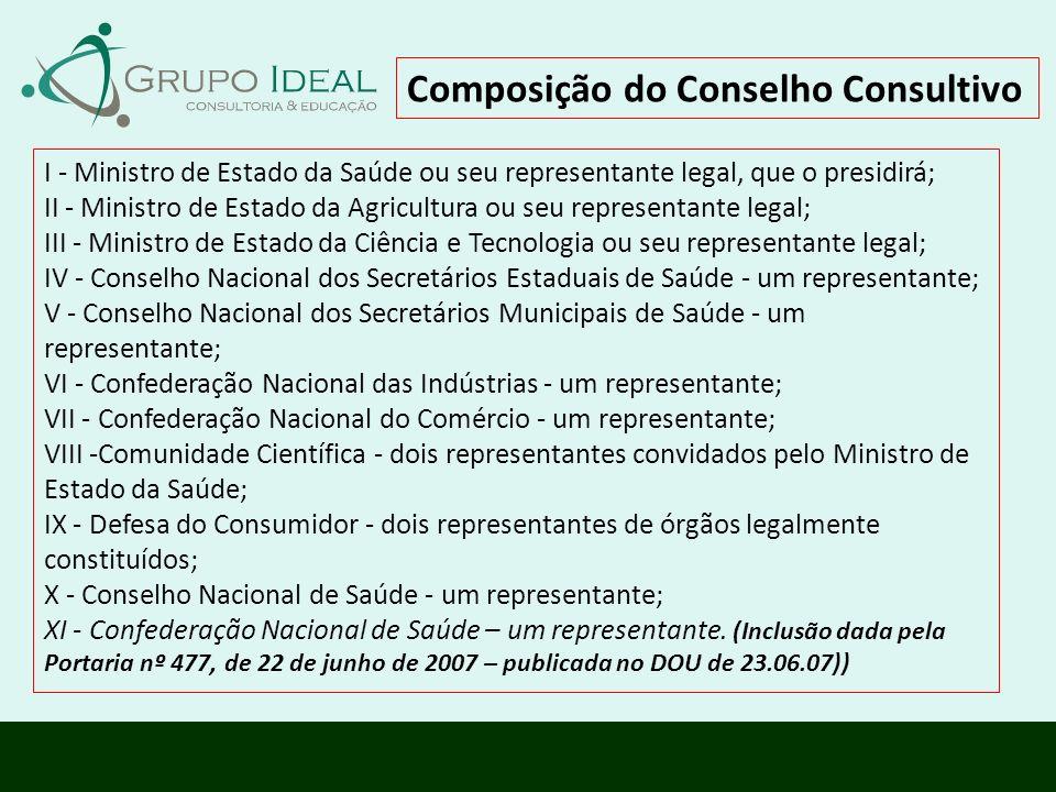 Composição do Conselho Consultivo