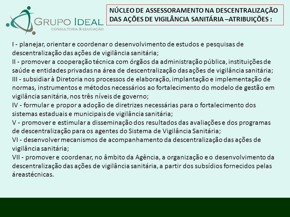 NÚCLEO DE ASSESSORAMENTO NA DESCENTRALIZAÇÃO