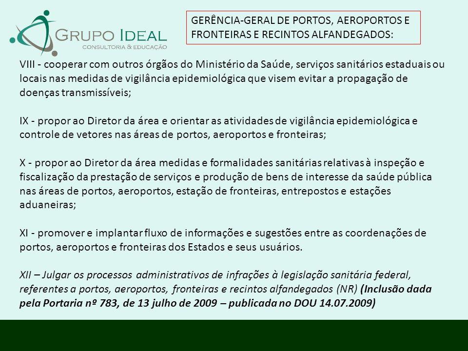 GERÊNCIA-GERAL DE PORTOS, AEROPORTOS E