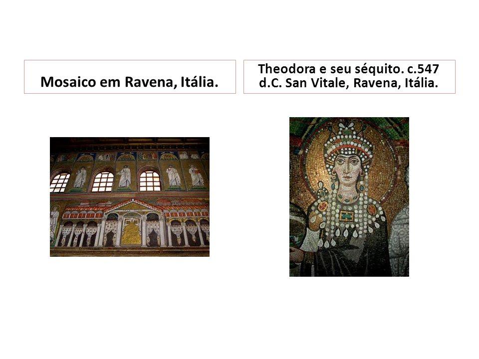 Mosaico em Ravena, Itália.
