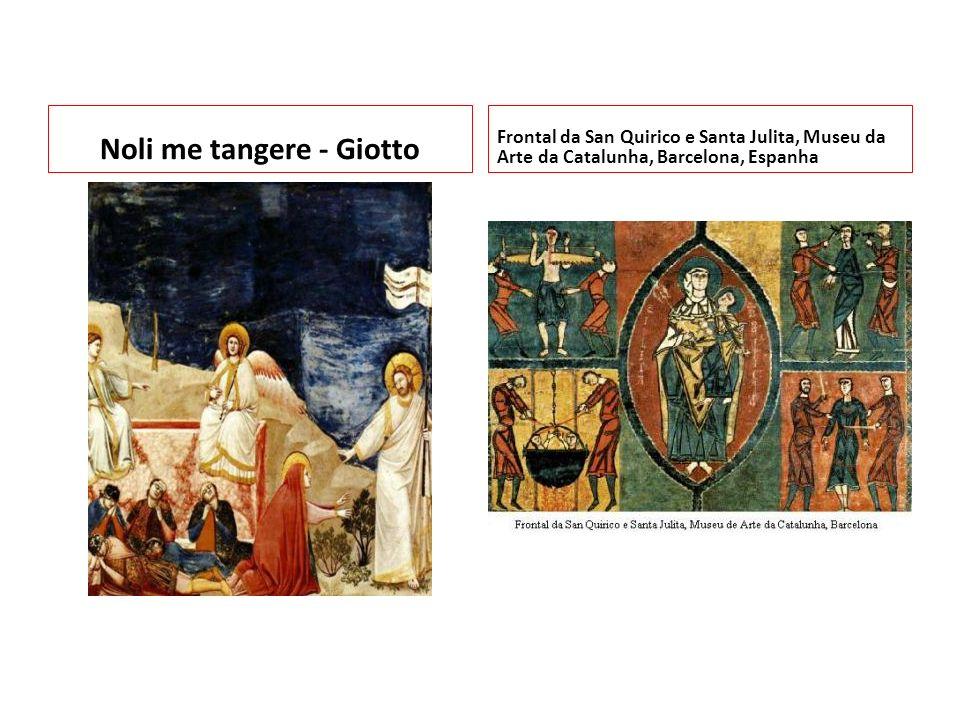 Noli me tangere - Giotto