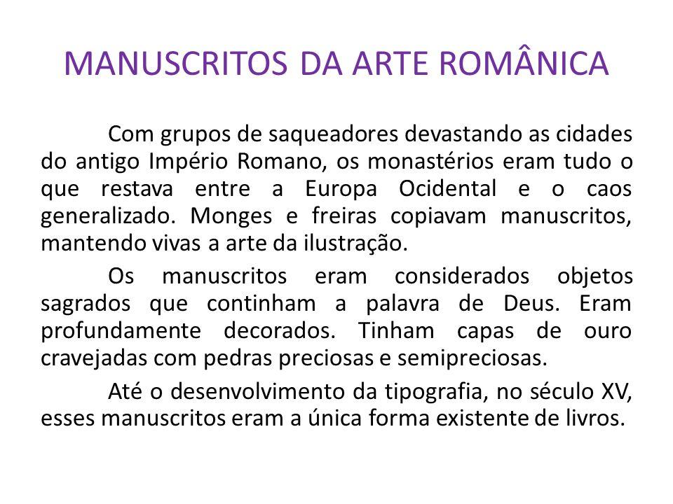 MANUSCRITOS DA ARTE ROMÂNICA
