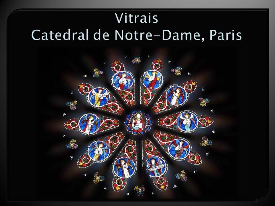 Vitrais Catedral de Notre-Dame, Paris