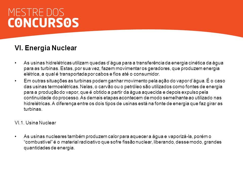 VI. Energia Nuclear