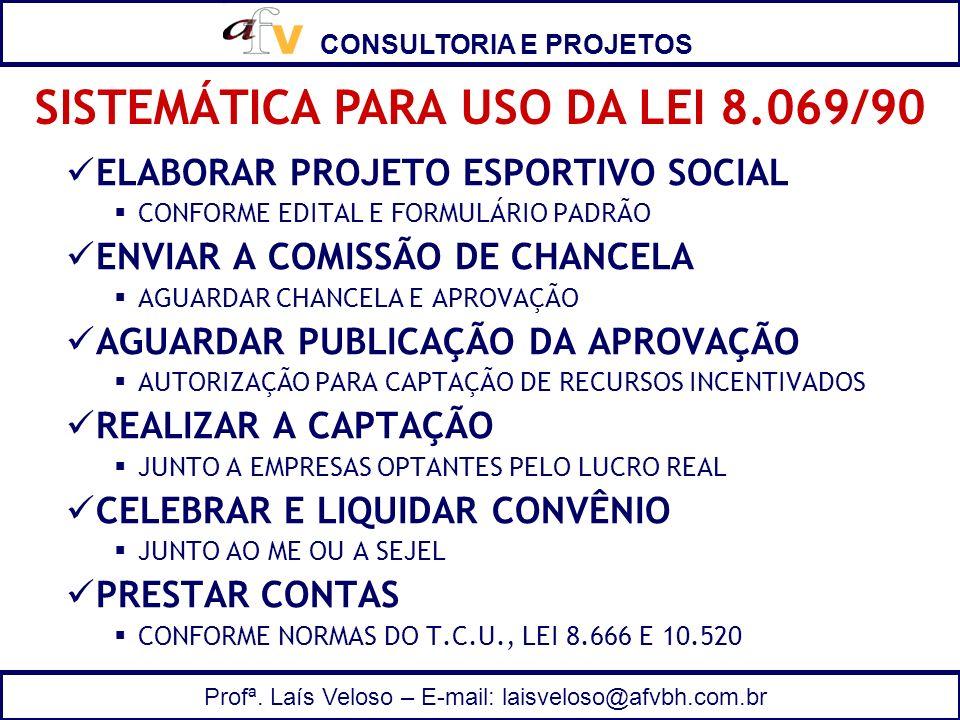 SISTEMÁTICA PARA USO DA LEI 8.069/90
