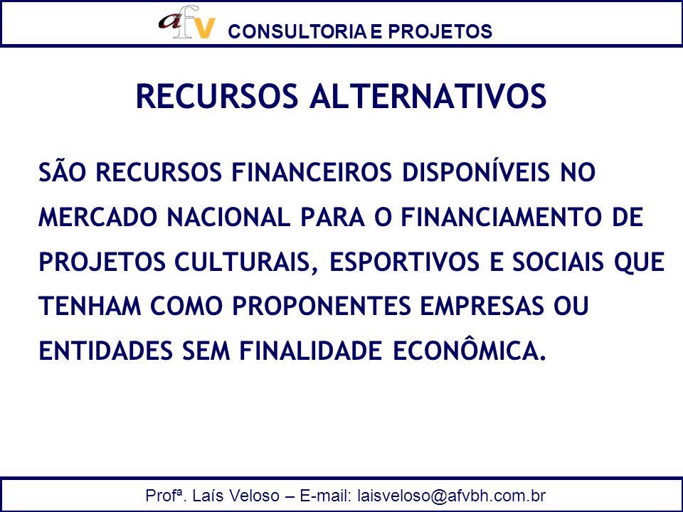 RECURSOS ALTERNATIVOS