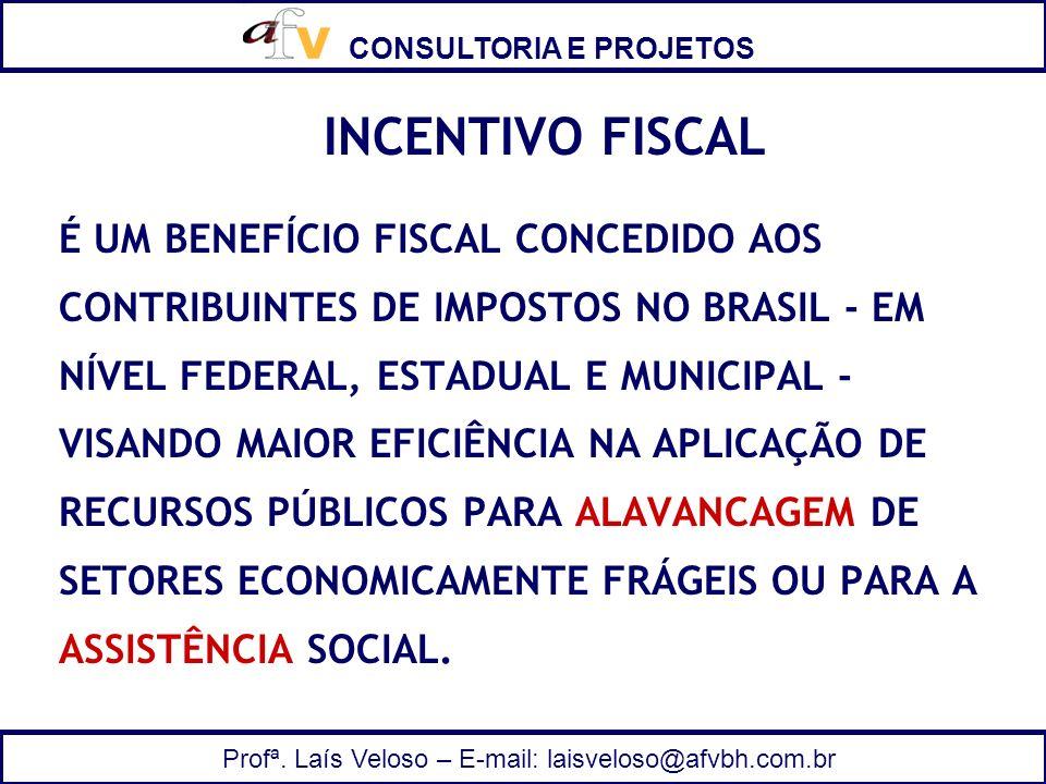 INCENTIVO FISCAL