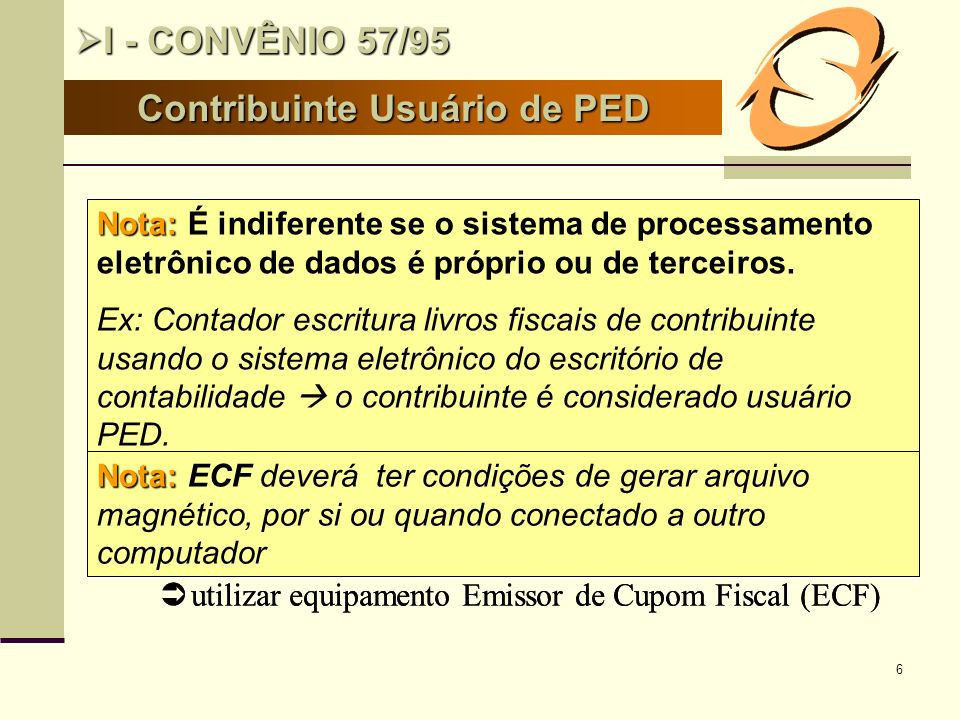 Contribuinte Usuário de PED