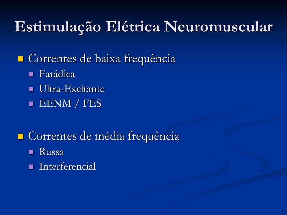 Estimulação Elétrica Neuromuscular