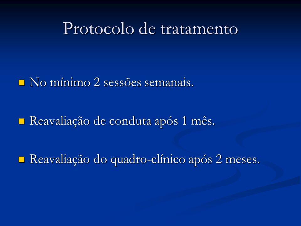 Protocolo de tratamento