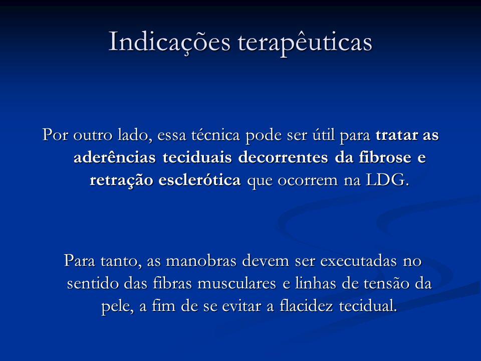 Indicações terapêuticas