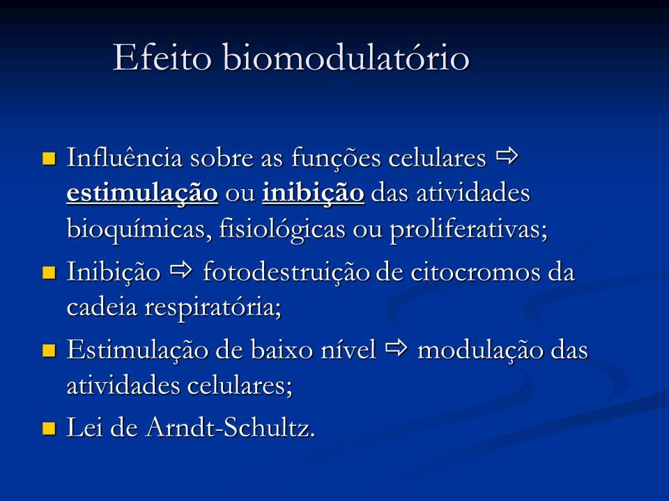 Efeito biomodulatório