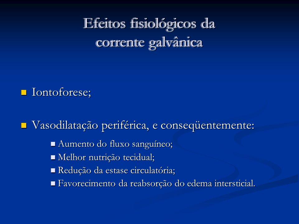 Efeitos fisiológicos da corrente galvânica