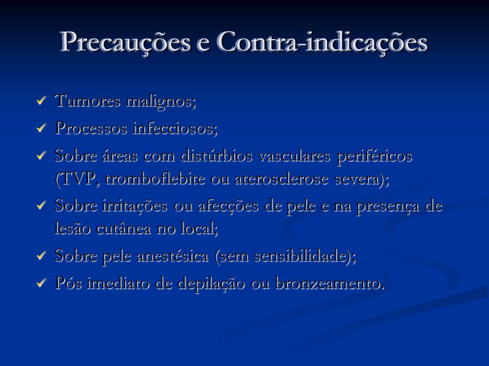 Precauções e Contra-indicações