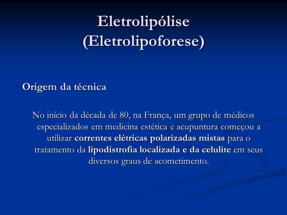 Eletrolipólise (Eletrolipoforese)