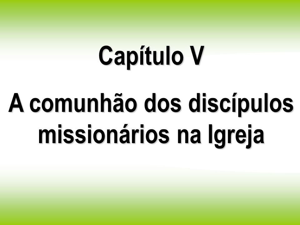 A comunhão dos discípulos missionários na Igreja